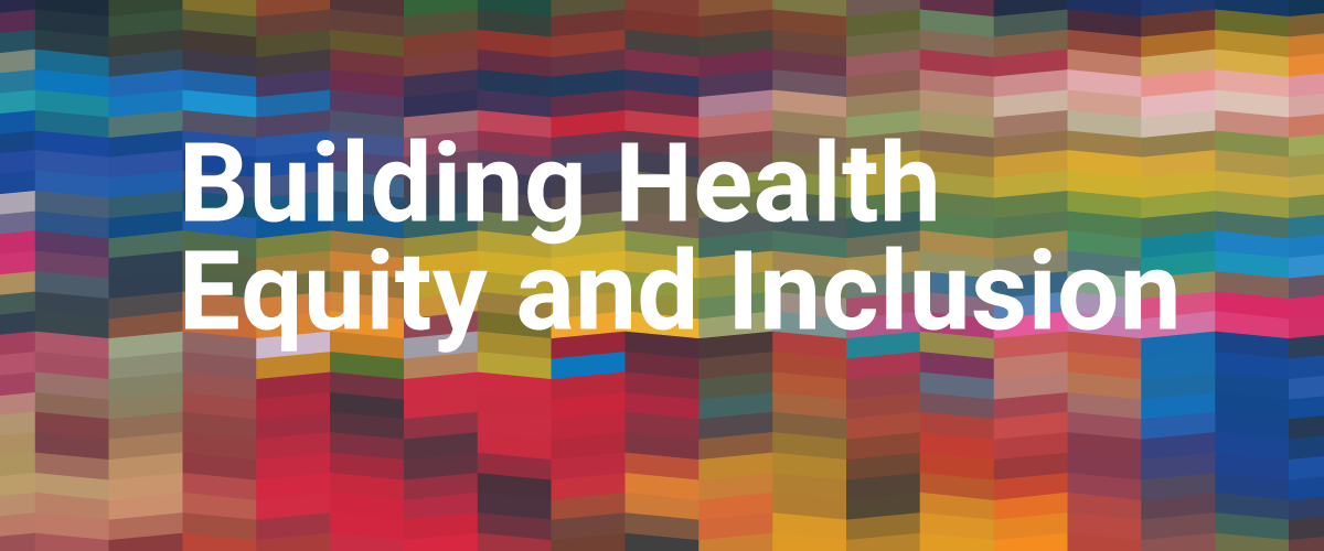 Building Health Equity Banner