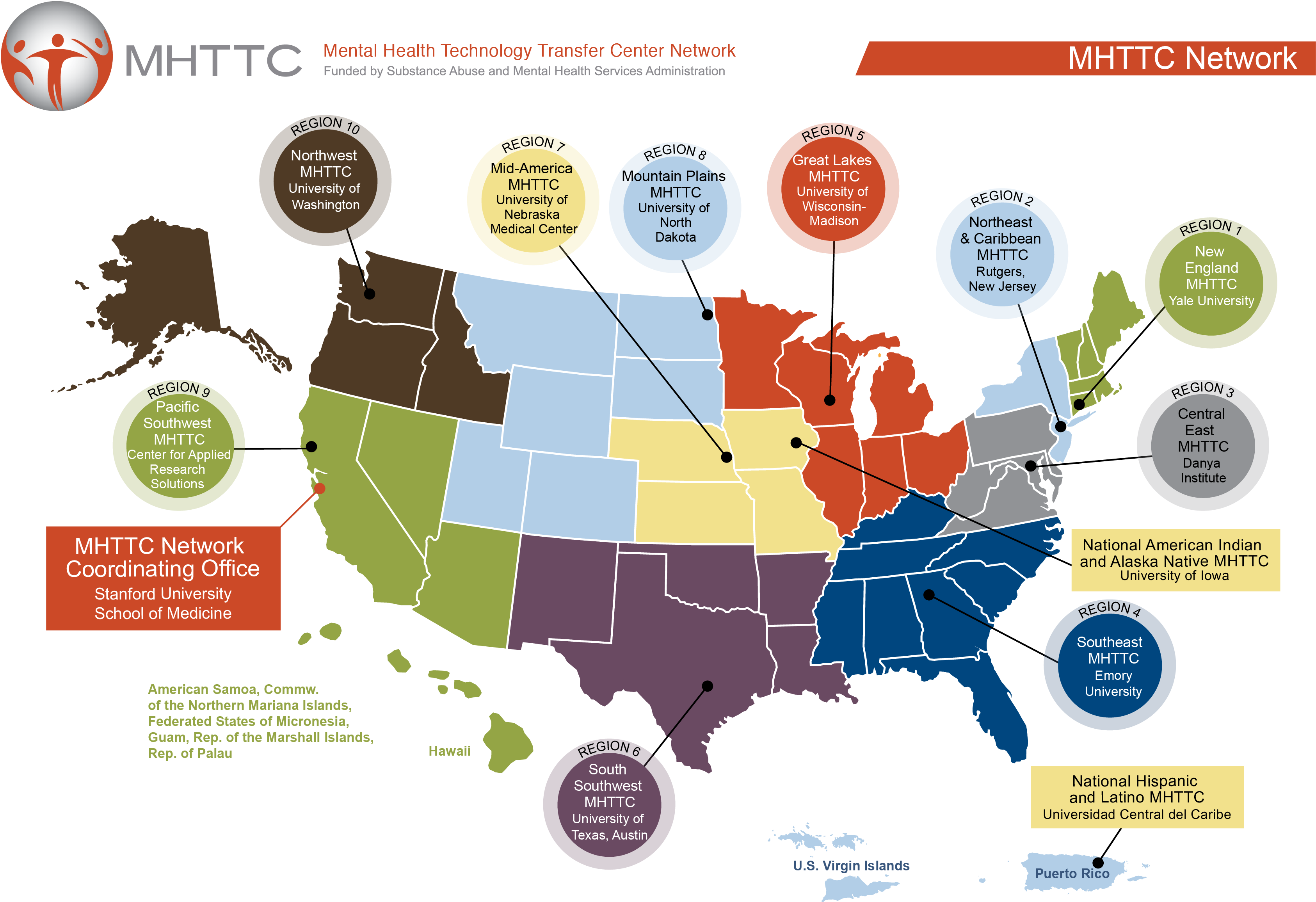 National Helpline Samhsa Substance Abuse And Mental Health >> About The Mhttc Network Mental Health Technology Transfer Center