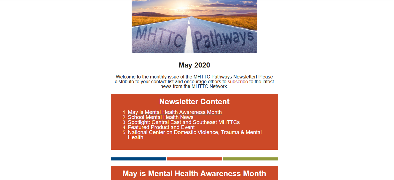 May 2020 Pathways Newsletter