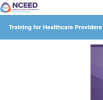 screenshot of NCEED homepage
