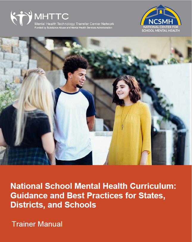 national school mental health curriculum trainer manual