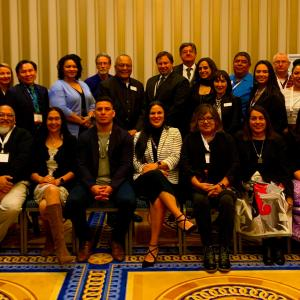 Photo of Inter-Tribal Advisory Council members