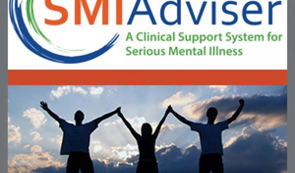 SMI Adviser logo and three silhouetted figures against the sky in exclamative poses.
