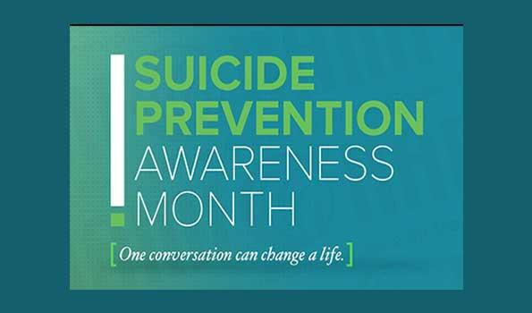 logo for Suicide Prevention Awareness Month