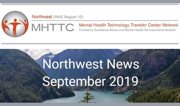 image of the header of the NW-MHTTC September newsletter