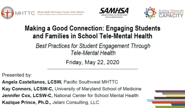 school tele-mental health session 1 cover photo
