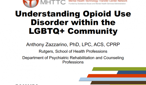 Understanding Opioid Use Disorder within the LGBTQ+ Community