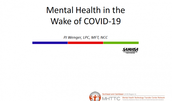 Mental Health in the Wake of COVID-19